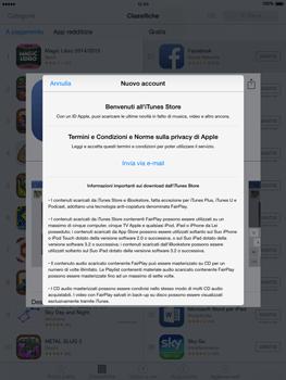 Apple iPad Air - iOS 8 - Applicazioni - Configurazione del negozio applicazioni - Fase 9