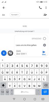 Huawei P20 - Android Pie - MMS - Erstellen und senden - Schritt 12