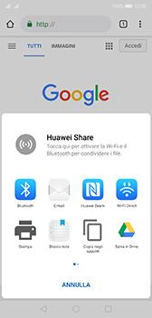 Huawei P20 - Android Pie - Internet e roaming dati - Uso di Internet - Fase 21