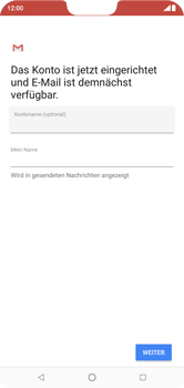 Nokia 6.1 Plus - E-Mail - Konto einrichten (outlook) - 11 / 15