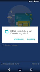 Sony Xperia X Performance - E-Mail - Konto einrichten (outlook) - 12 / 18