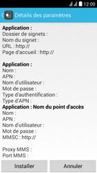 Huawei Ascend Y625 - Internet - Configuration automatique - Étape 6