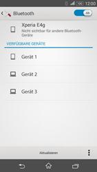 Sony Xperia E4G - Bluetooth - Geräte koppeln - 1 / 1