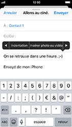 Apple iPhone SE - iOS 12 - E-mail - envoyer un e-mail - Étape 9