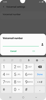 Samsung Galaxy A50 - Voicemail - Manual configuration - Step 10
