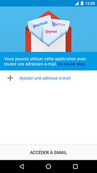 Motorola Moto E4 Plus - E-mails - Ajouter ou modifier votre compte Gmail - Étape 5