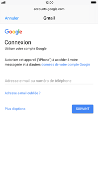 Apple iPhone 8 Plus - E-mail - 032a. Email wizard - Gmail - Étape 6