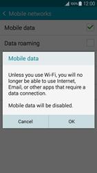 Samsung A300FU Galaxy A3 - Internet - Disable mobile data - Step 7