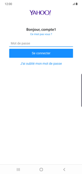 Samsung Galaxy Note10 Plus - E-mail - Configuration manuelle (yahoo) - Étape 11