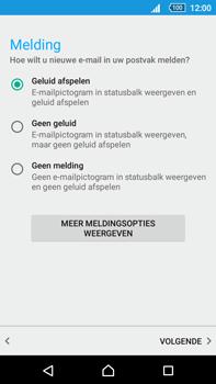 Sony Xperia Z5 Premium (E6853) - E-mail - Handmatig instellen - Stap 20