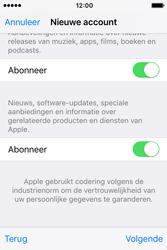 Apple iPhone 4S (iOS 9) - apps - account instellen - stap 18