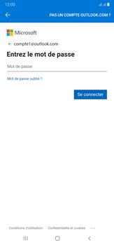 Samsung Galaxy Note20 Ultra 5G - E-mails - Ajouter ou modifier votre compte Outlook - Étape 9