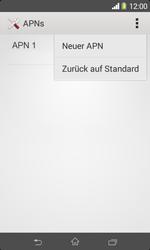 Sony Xperia E1 - MMS - Manuelle Konfiguration - 9 / 21