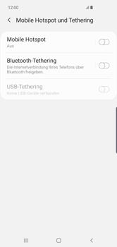 Samsung Galaxy S10 Plus - WiFi - So aktivieren Sie einen WLAN-Hotspot - Schritt 6