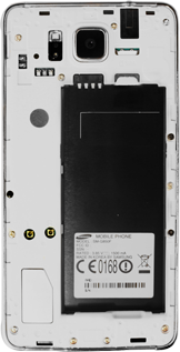 Samsung G850F Galaxy Alpha - Primeros pasos - Quitar y colocar la batería - Paso 5