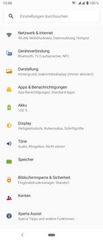 Sony Xperia 5 - WiFi - WiFi Calling aktivieren - Schritt 5