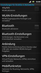 Sony Xperia U - Ausland - Auslandskosten vermeiden - Schritt 7