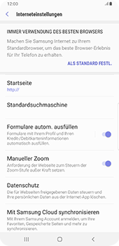 Samsung Galaxy S9 Plus - Internet - Manuelle Konfiguration - 29 / 38