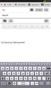 Samsung T211 Galaxy Tab 3 7-0 - E-Mail - E-Mail versenden - Schritt 5