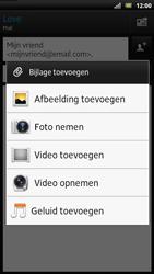 Sony LT22i Xperia P - E-mail - E-mails verzenden - Stap 10