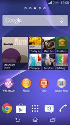 Sony D2203 Xperia E3 - Fehlerbehebung - Handy zurücksetzen - Schritt 1