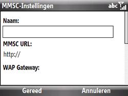HTC S521 Snap - MMS - Handmatig instellen - Stap 15