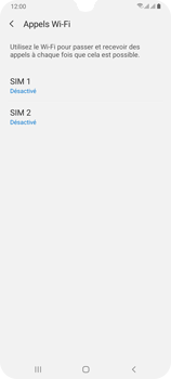 Samsung Galaxy A70 - WiFi - Activez WiFi Calling - Étape 7