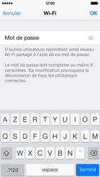 Apple iPhone 5c - Internet et connexion - Partager votre connexion en Wi-Fi - Étape 8