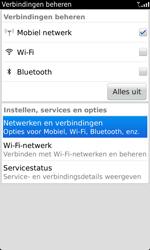 BlackBerry 9860 Torch - netwerk en bereik - gebruik in binnen- en buitenland - stap 4