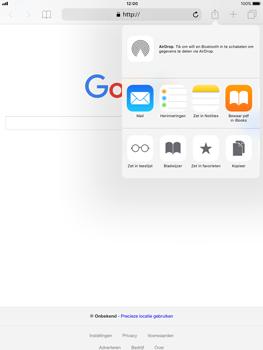 Apple iPad Air iOS 11 - Internet - internetten - Stap 16