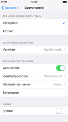 Apple iPhone 6 iOS 10 - E-mail - handmatig instellen - Stap 24