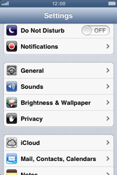 Apple iPhone 3GS - E-mail - Manual configuration - Step 3