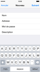 Apple iPhone 5s - iOS 8 - E-mail - Configuration manuelle - Étape 10