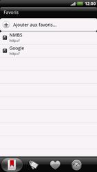 HTC X515m EVO 3D - Internet - Navigation sur Internet - Étape 10