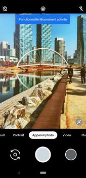 Google Pixel 3a - Photos, vidéos, musique - Créer une vidéo - Étape 5