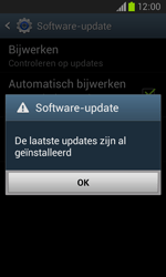 Samsung I8260 Galaxy Core - Software update - update installeren zonder PC - Stap 7