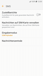 Samsung Galaxy S7 - SMS - Manuelle Konfiguration - 1 / 1
