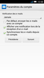 Alcatel One Touch Idol Mini - E-mail - configuration manuelle - Étape 19