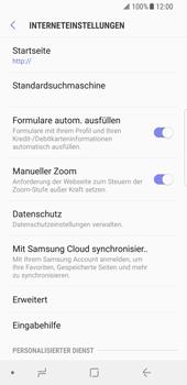 Samsung Galaxy S8 - Internet - Manuelle Konfiguration - 0 / 0
