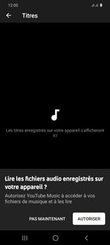 Samsung Galaxy S20 - Photos, vidéos, musique - Ecouter de la musique - Étape 6