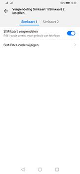 Huawei Mate 20 Pro - Beveiliging - Stel de pincode voor je simkaart in - Stap 7