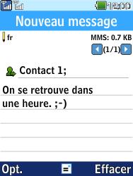 LG G359 - Contact, Appels, SMS/MMS - Envoyer un MMS - Étape 11