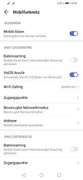 Huawei P30 Lite - Internet und Datenroaming - Deaktivieren von Datenroaming - Schritt 6