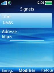 Sony W100i Spiro - Internet - Navigation sur Internet - Étape 16