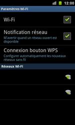 Samsung I9100 Galaxy S II - Wifi - configuration manuelle - Étape 6