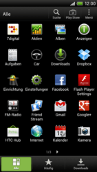 HTC One X - MMS - Manuelle Konfiguration - 1 / 1