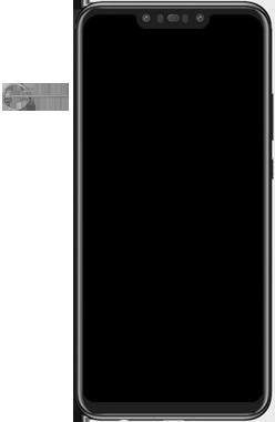 Huawei Nova 3 - SIM-Karte - Einlegen - Schritt 2