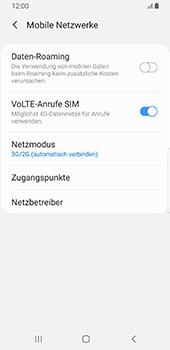 Samsung Galaxy S9 - Android Pie - Netzwerk - So aktivieren Sie eine 4G-Verbindung - Schritt 6
