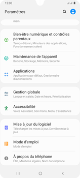 Samsung Galaxy A31 - Applications - Supprimer une application - Étape 4