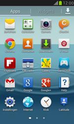 Samsung I8190 Galaxy S III Mini - Internet - Hoe te internetten - Stap 2